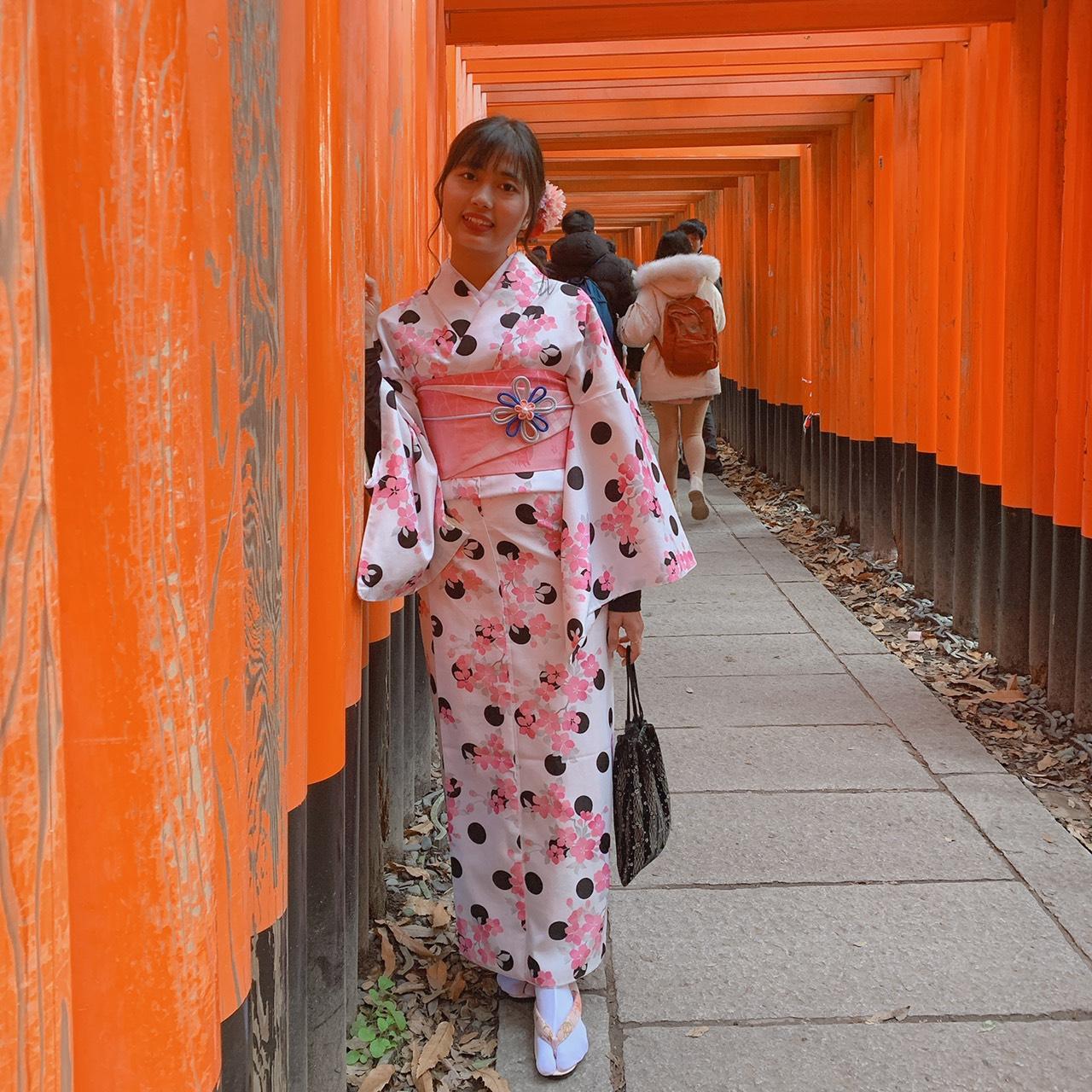 年末に京都で着物レンタル2019年12月27日4