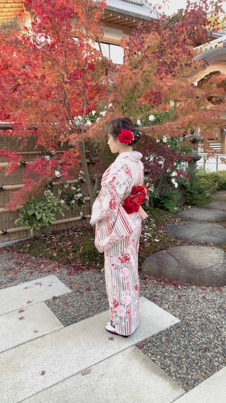 常連様❣着物で京都のカフェ巡り2019年12月9日3