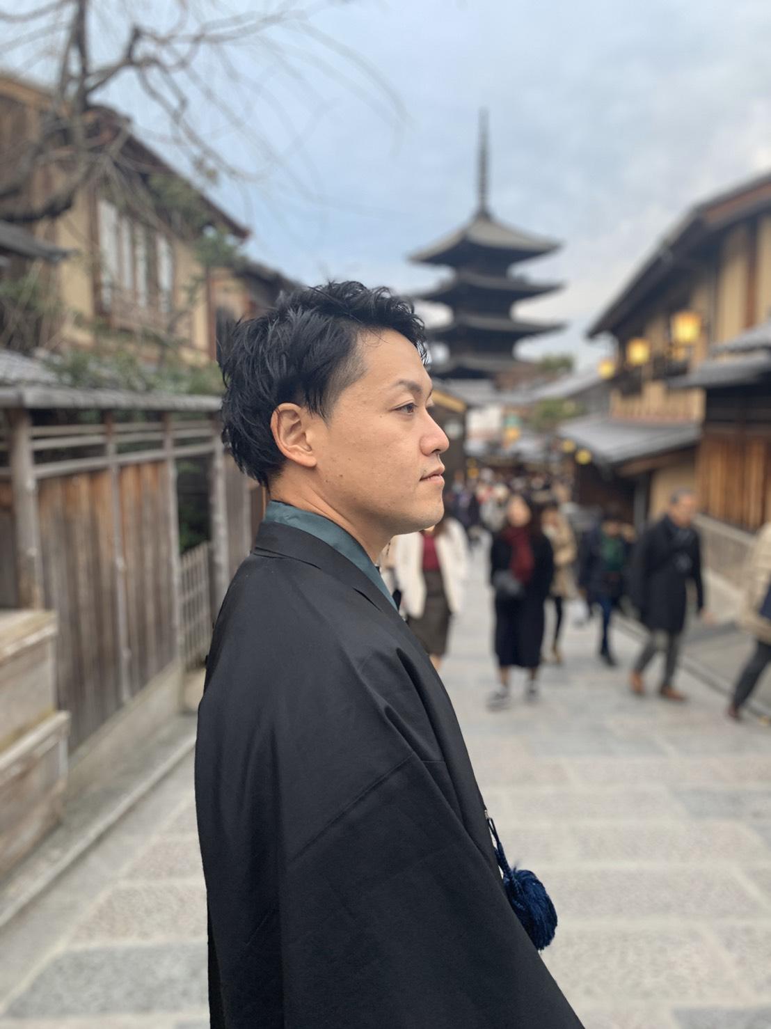 台湾から着物で平安神宮へ2019年12月21日4