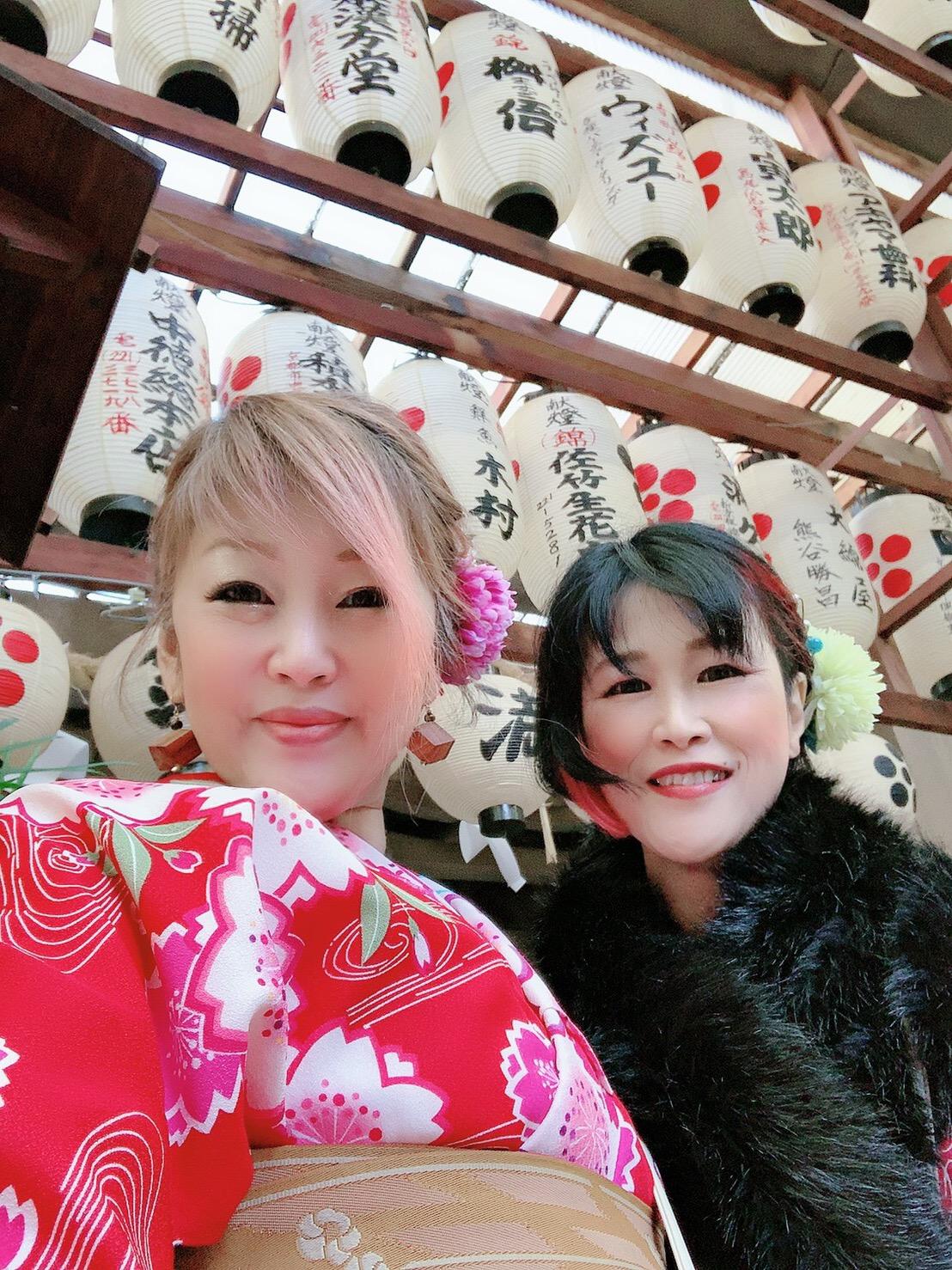 常連様❣着物で京都のカフェ巡り2019年12月9日6