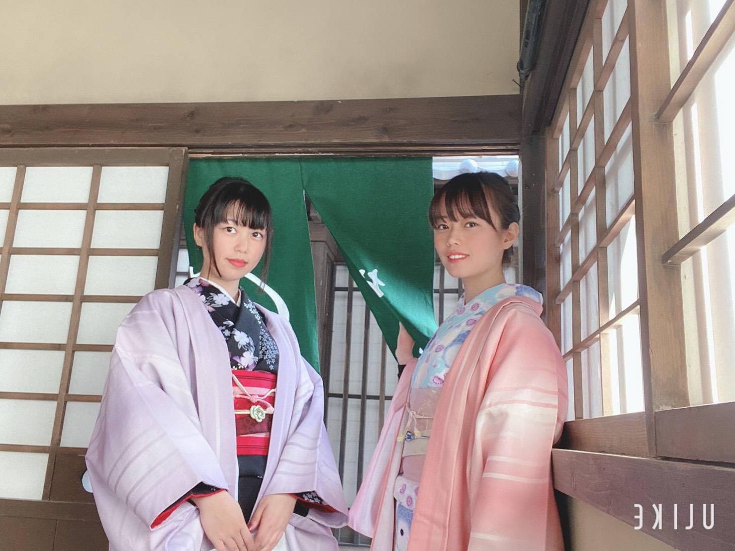 着物で東映太秦映画村へ2019年12月24日4