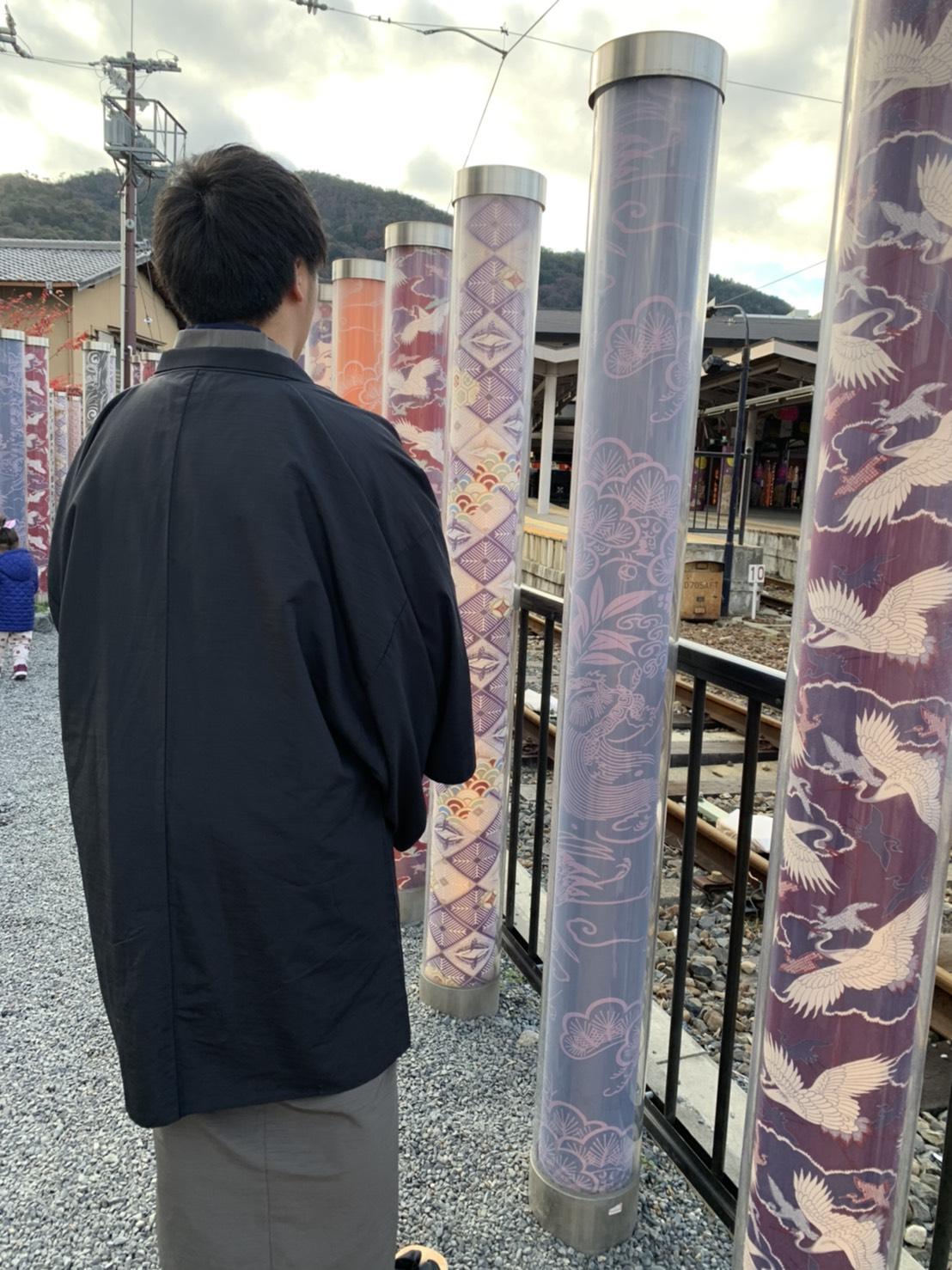 着物で東映太秦映画村へ2019年12月24日1