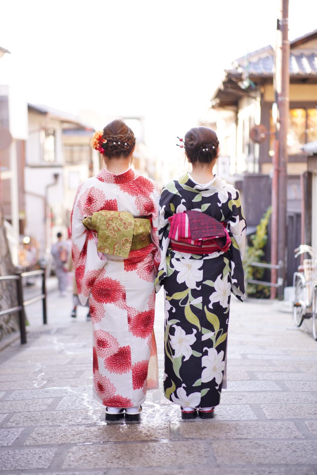 常連様❣着物で京都のカフェ巡り2019年12月9日1