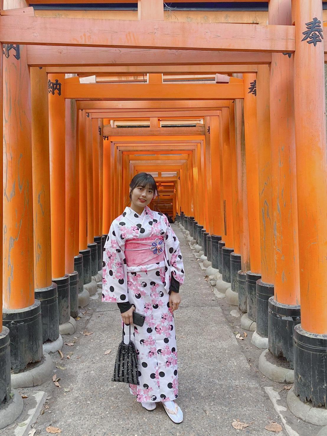 年末に京都で着物レンタル2019年12月27日5