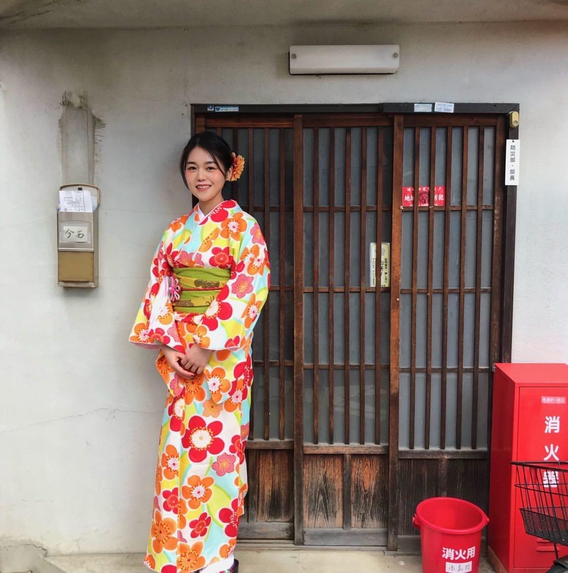 海外から京都で着物体験♪2020年1月30日1