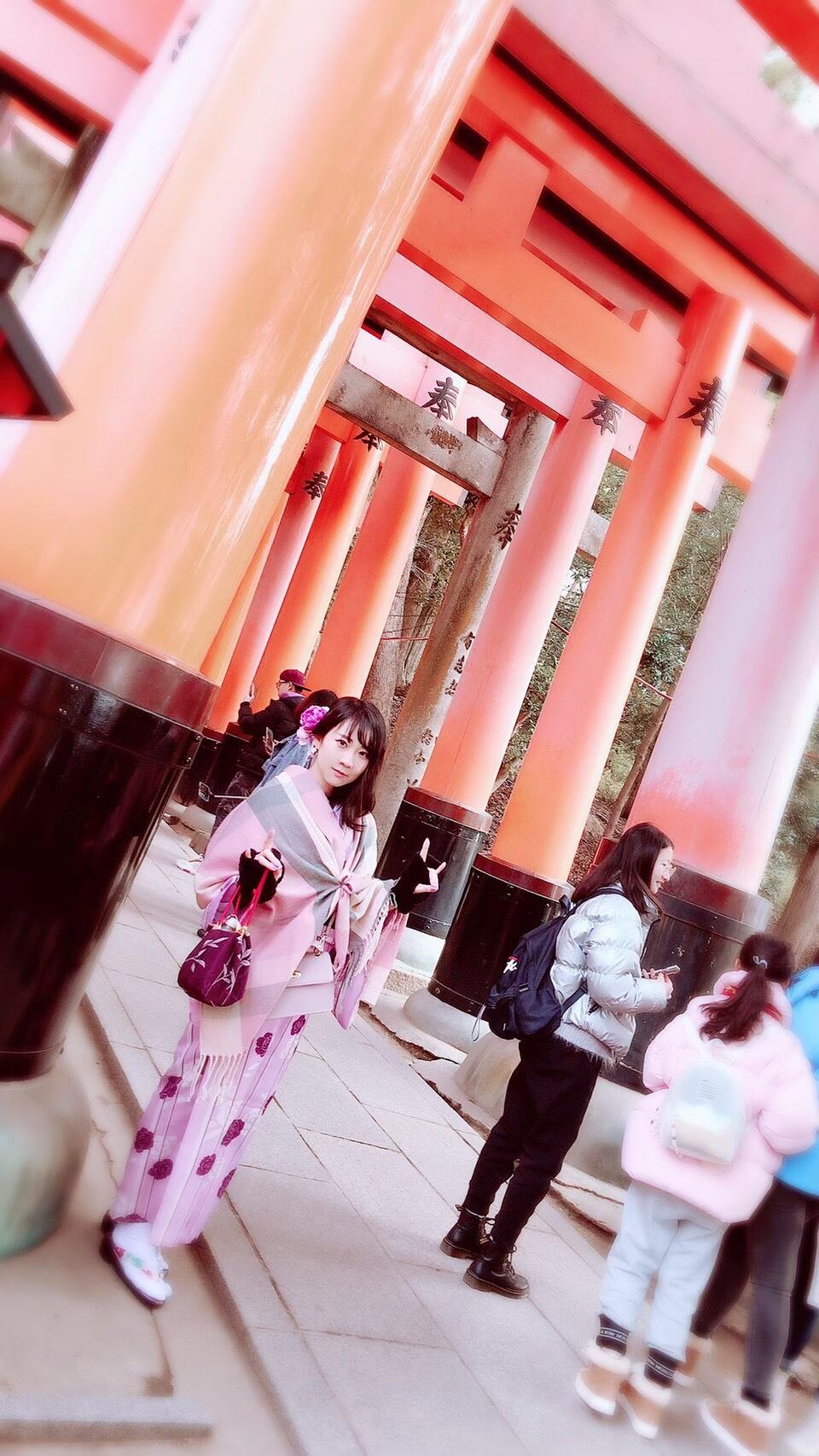 伏見稲荷大社と嵐山へ2020年1月16日3