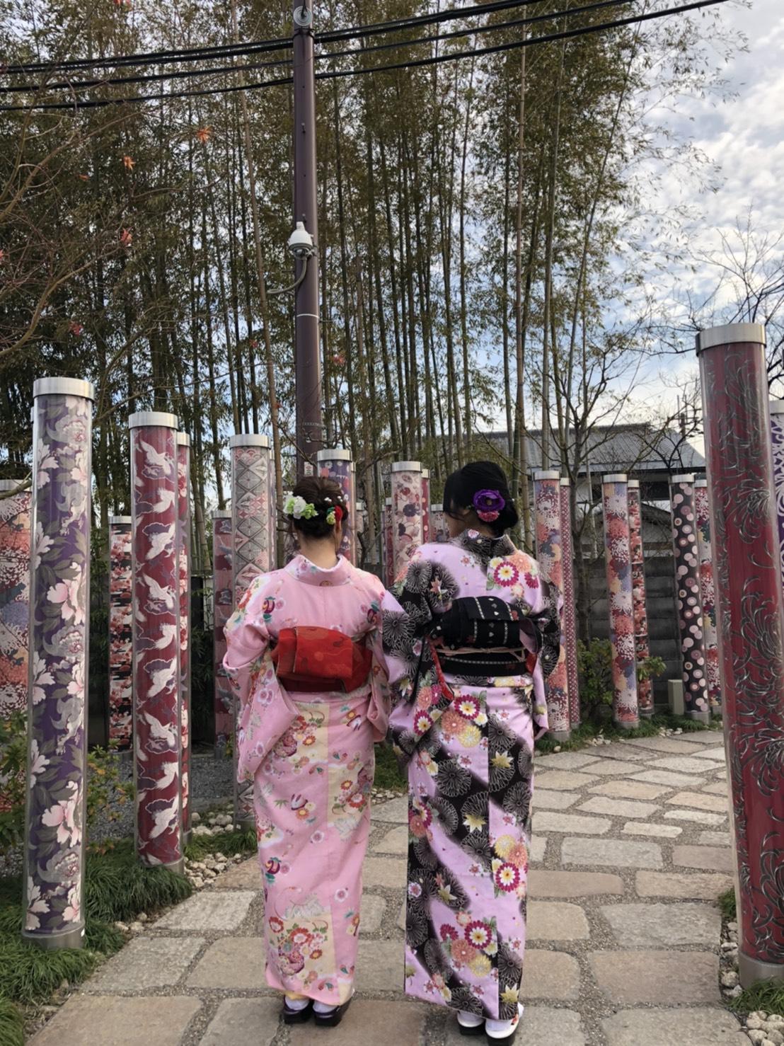 伏見稲荷大社と嵐山へ2020年1月16日1
