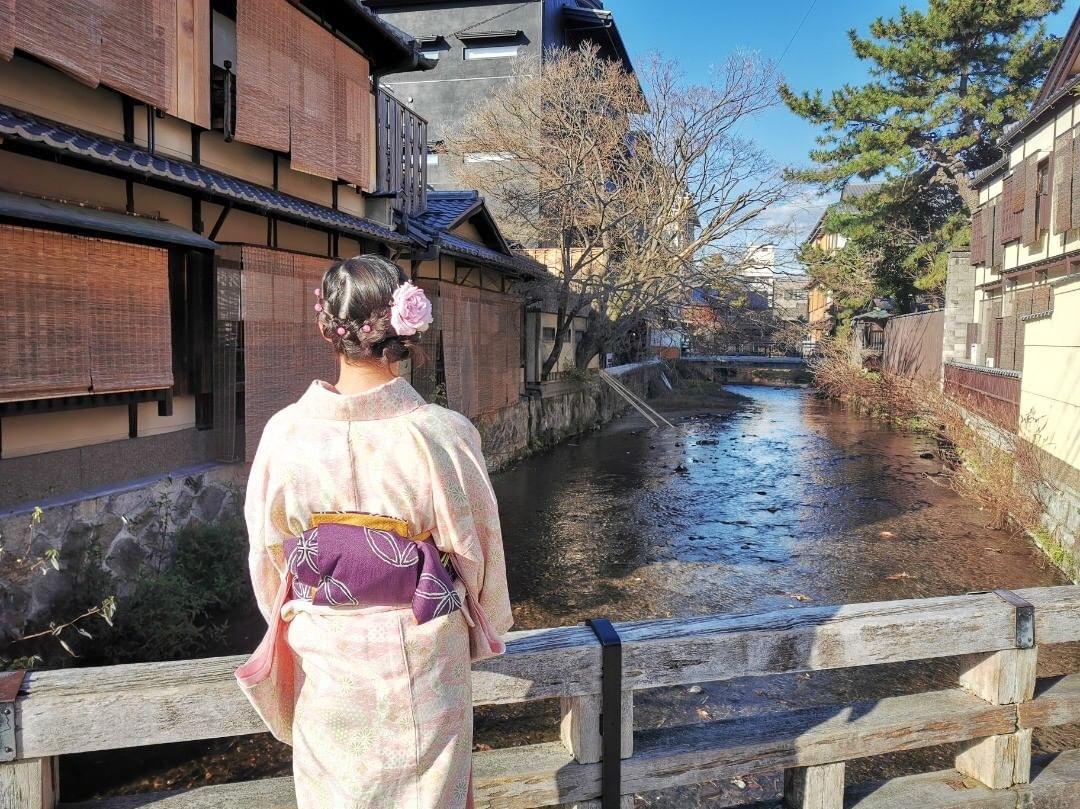 翌日返却!京都の夜を着物で楽しんできま~す♪2020年1月11日1