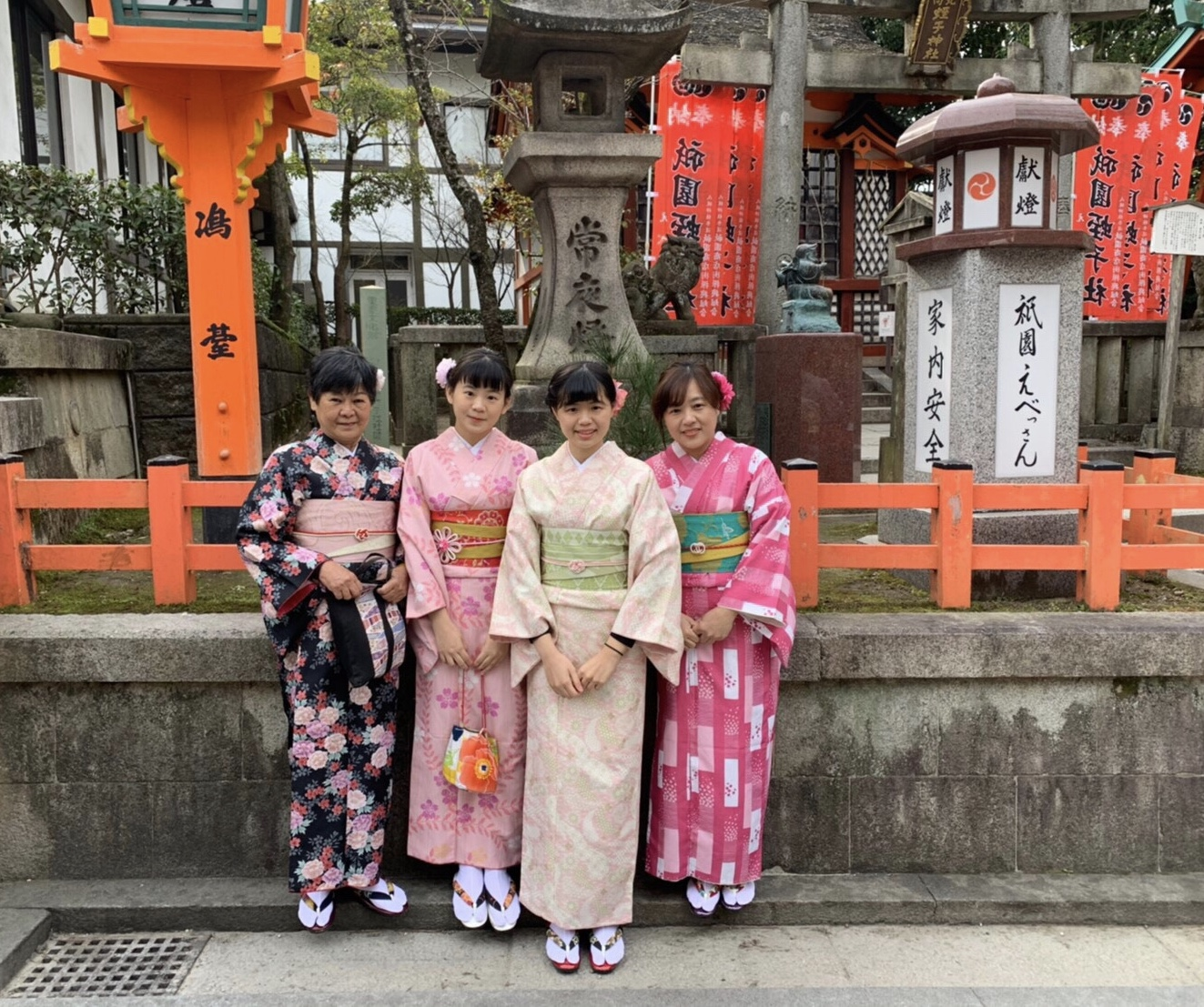 台湾からのリピーター様❣ご家族と再来店2020年1月14日4