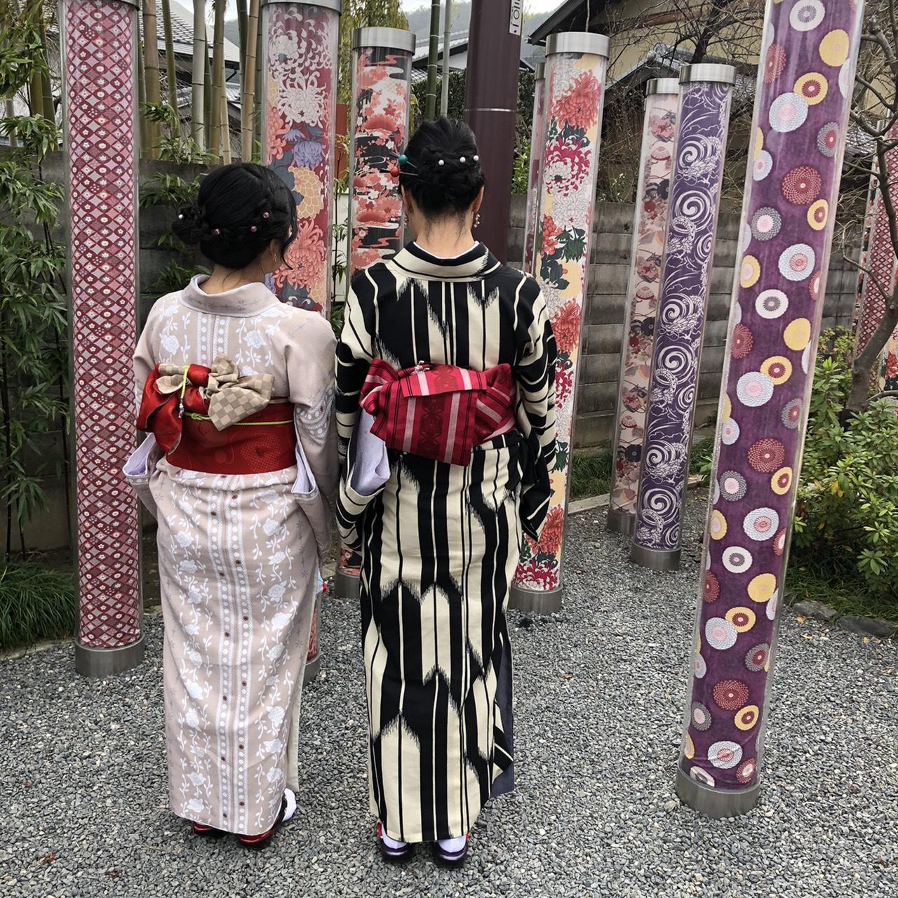カップルで冬の清水寺へ2020年1月18日3
