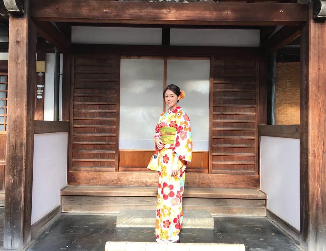 海外から京都で着物体験♪2020年1月30日5