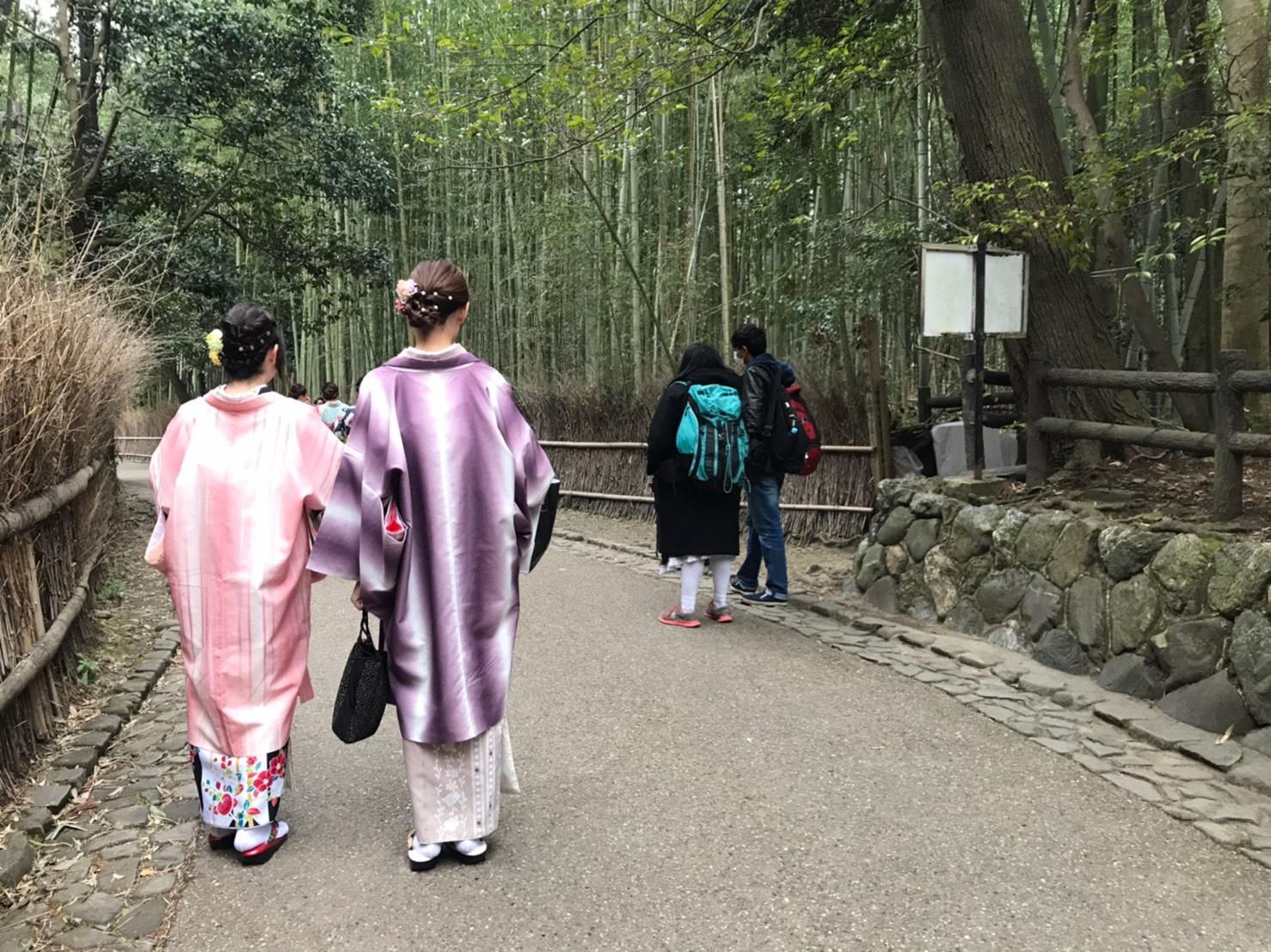 バス一日券で東山・嵐山を観光♪2020年2月12日1