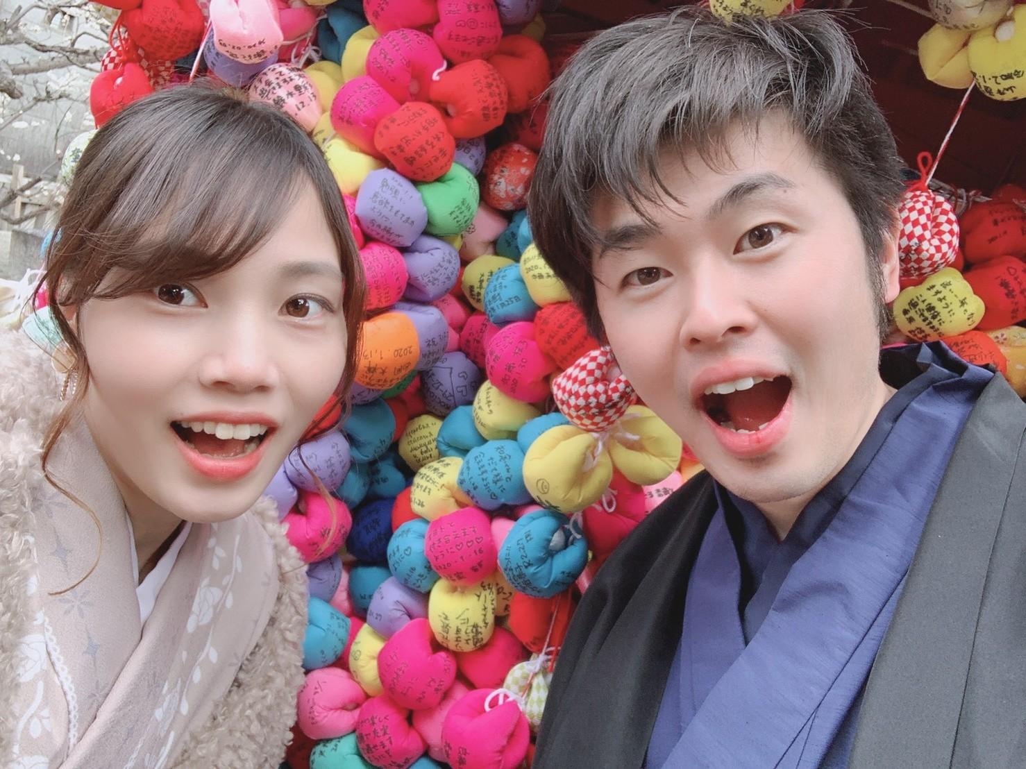 カップルで冬の京都を着物で満喫♡2020年2月8日3