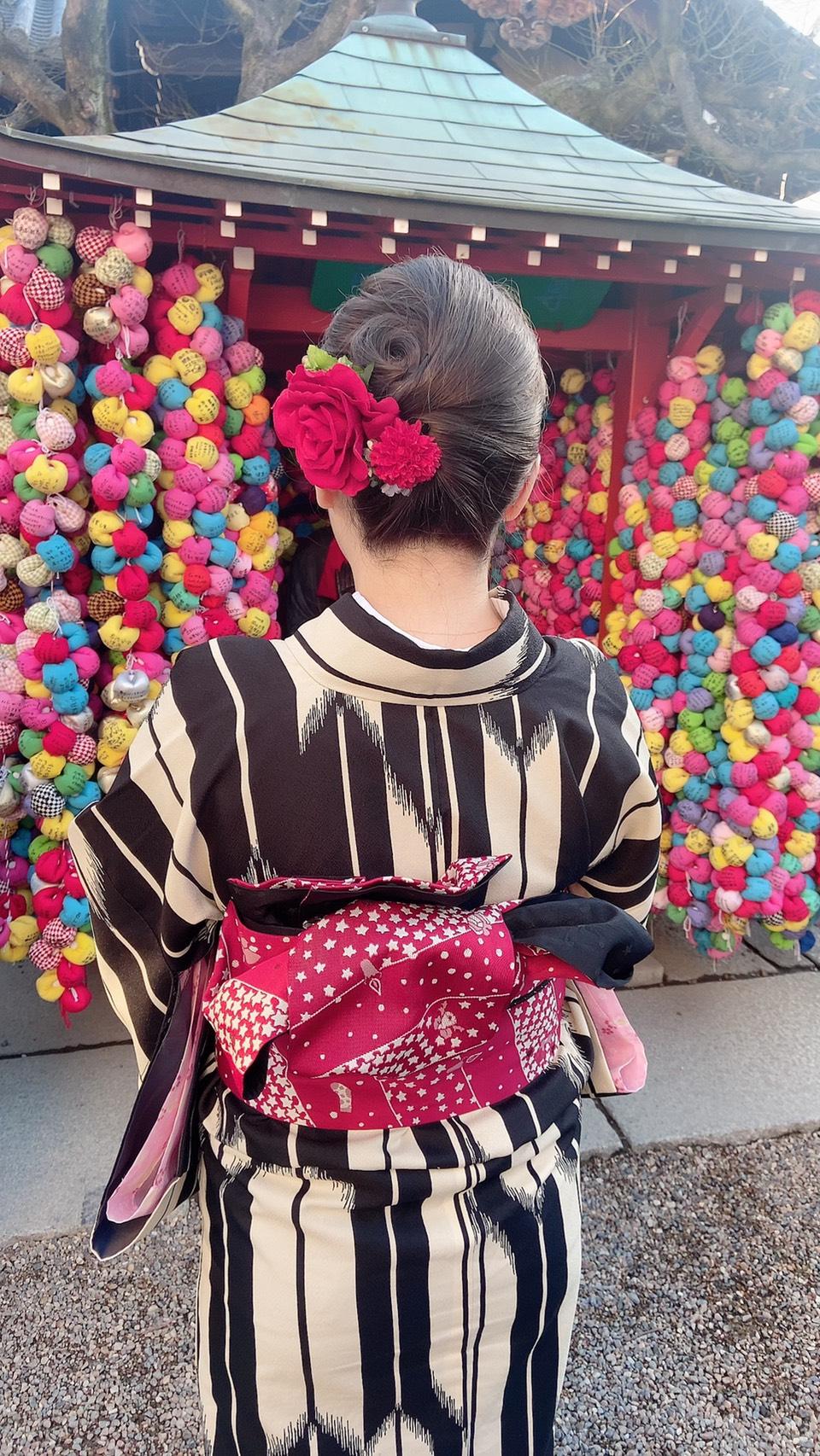 カップルで北野天満宮へ♡2020年2月11日7