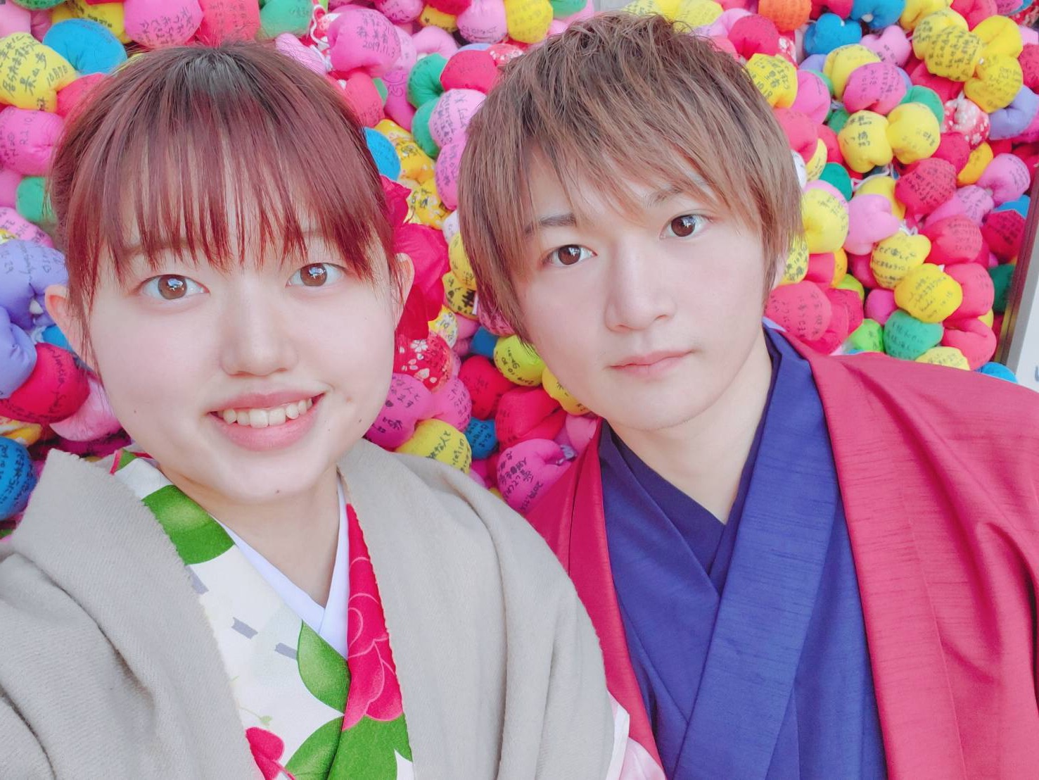 リピーター様❣それぞれ八坂庚申堂へ♡2020年2月7日2