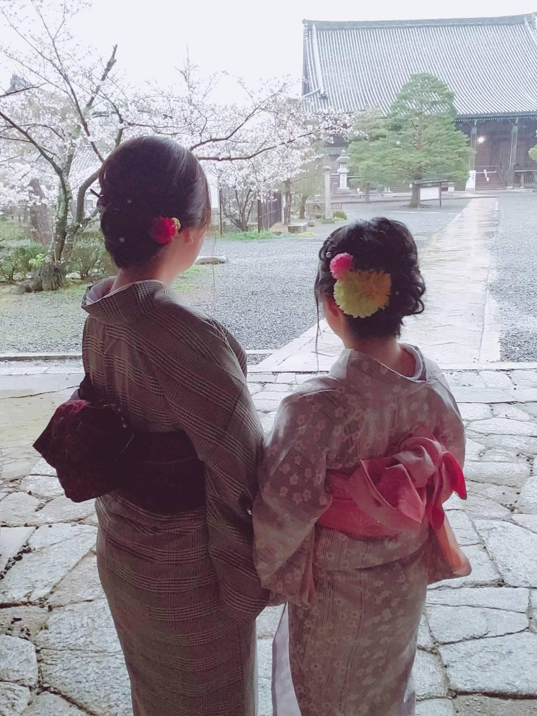 雨と桜と京都2020年3月27日5