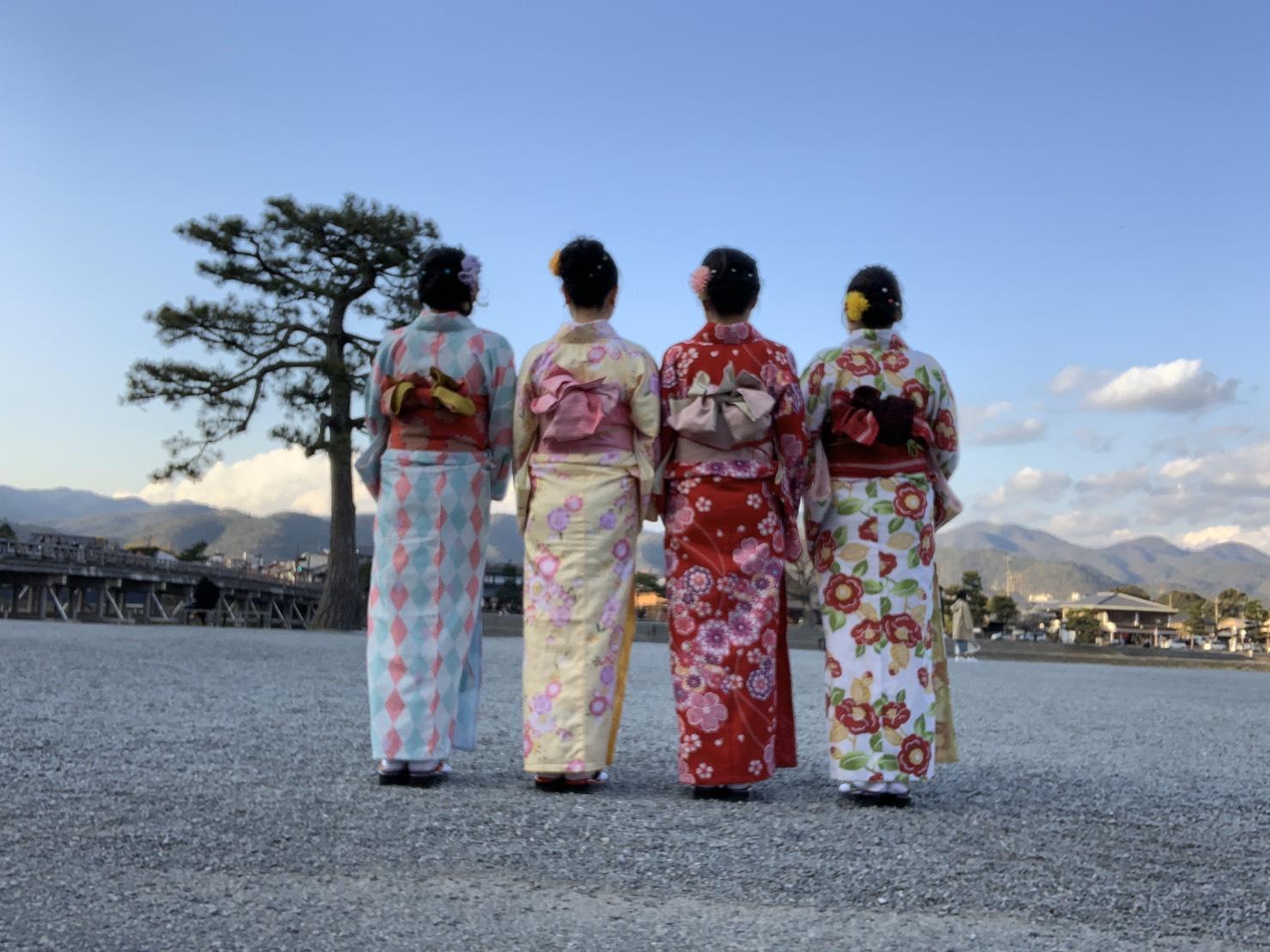 皆様、嵐山へ♪2020年3月24日11