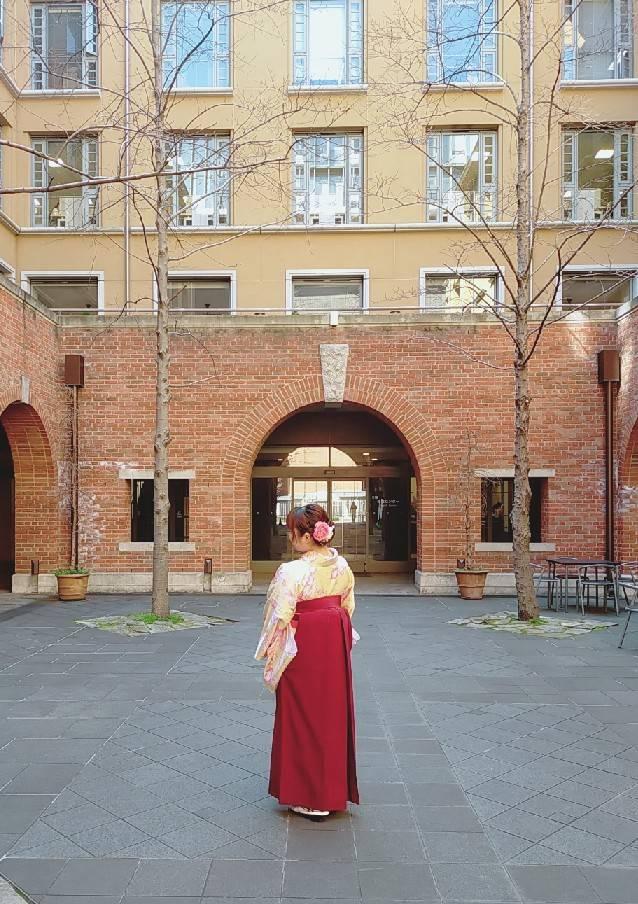 卒業記念に袴レンタル♪2020年3月20日4
