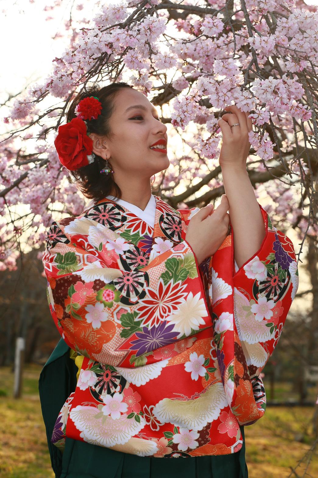 袴レンタル始めましたぁ♡2020年3月19日19
